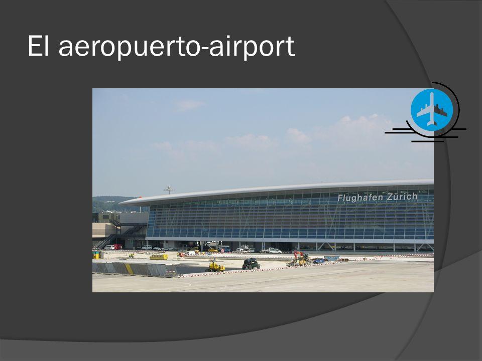 El aeropuerto-airport