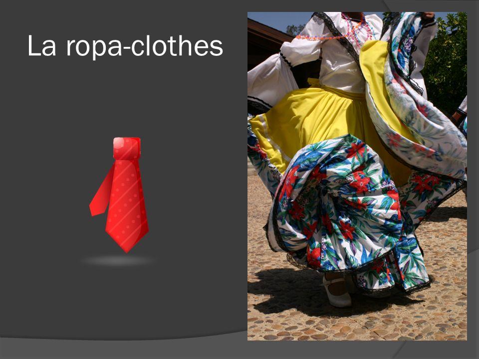 La ropa-clothes