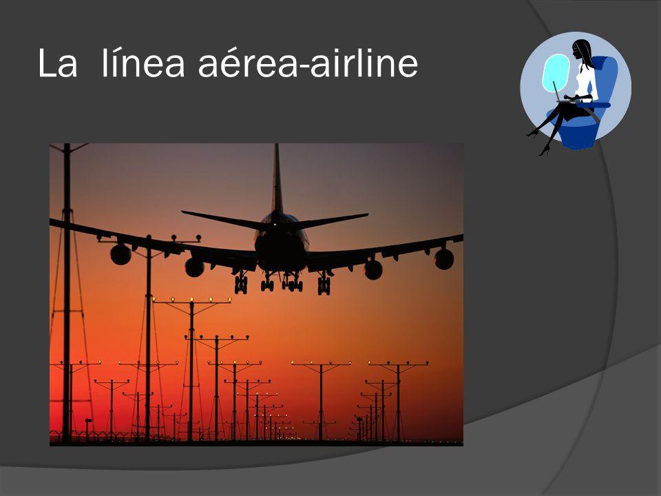La línea aérea-airline