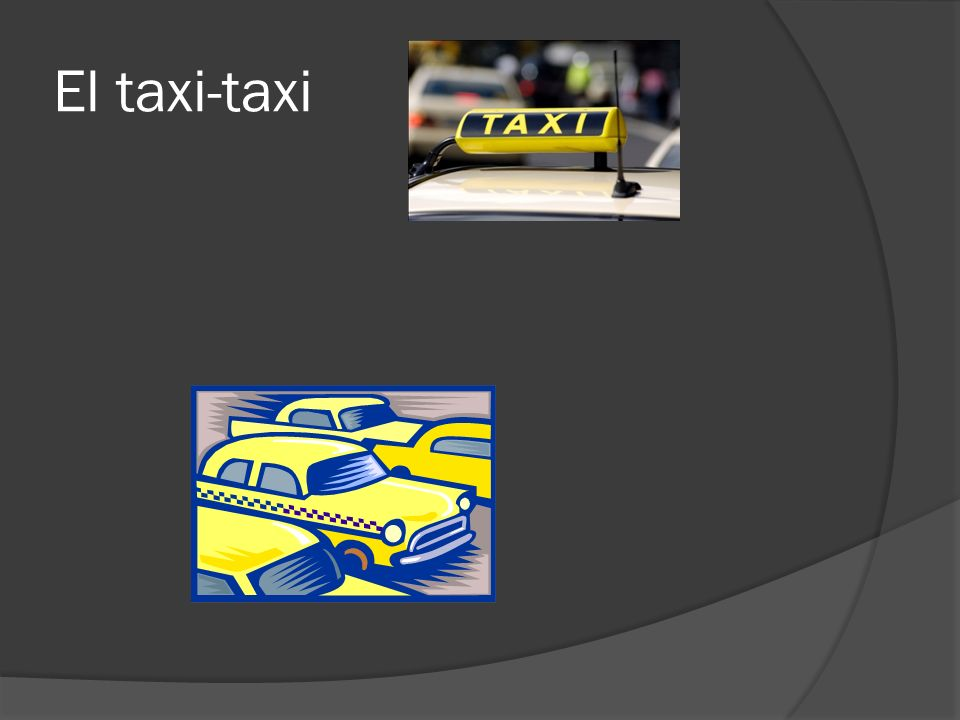 El taxi-taxi