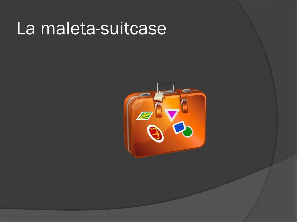 La maleta-suitcase