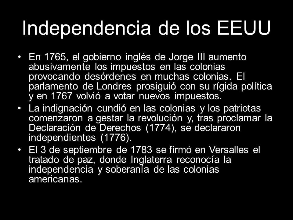 Independencia de los EEUU