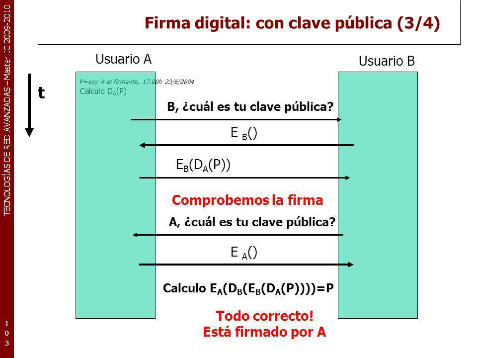 Firma digital: con clave pública (3/4)