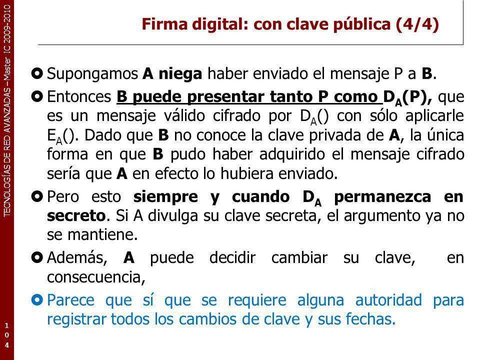 Firma digital: con clave pública (4/4)