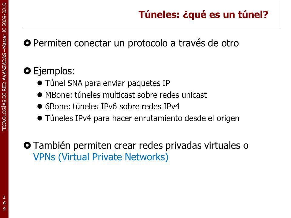 Túneles: ¿qué es un túnel