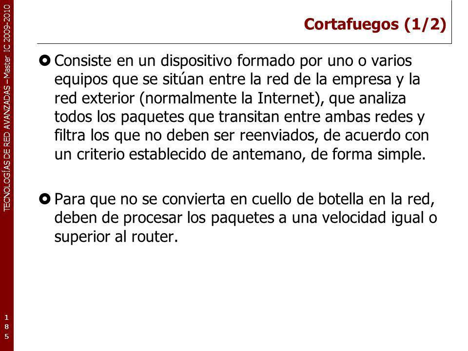 Cortafuegos (1/2)