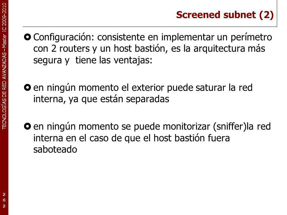 Screened subnet (2)