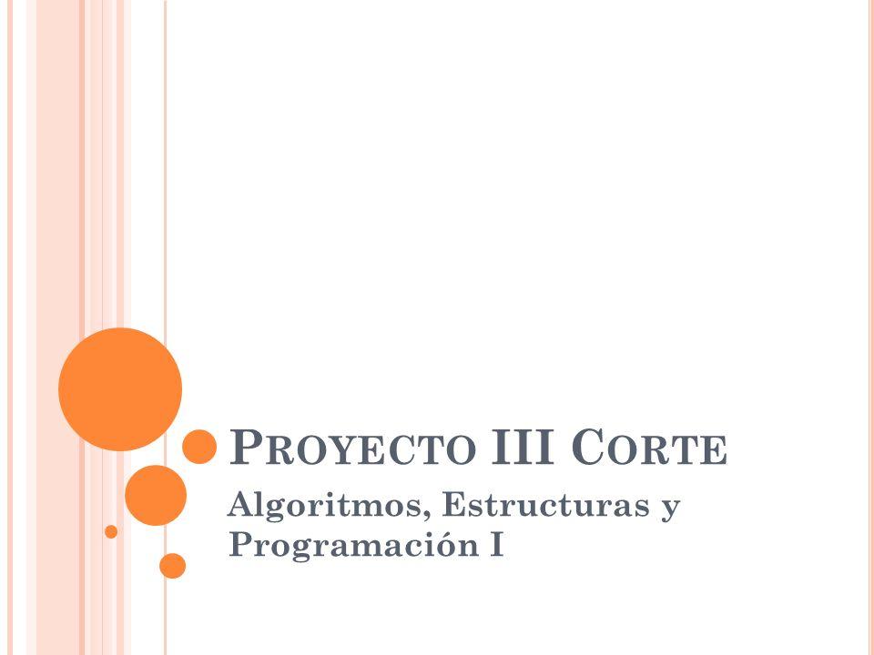 Algoritmos, Estructuras y Programación I
