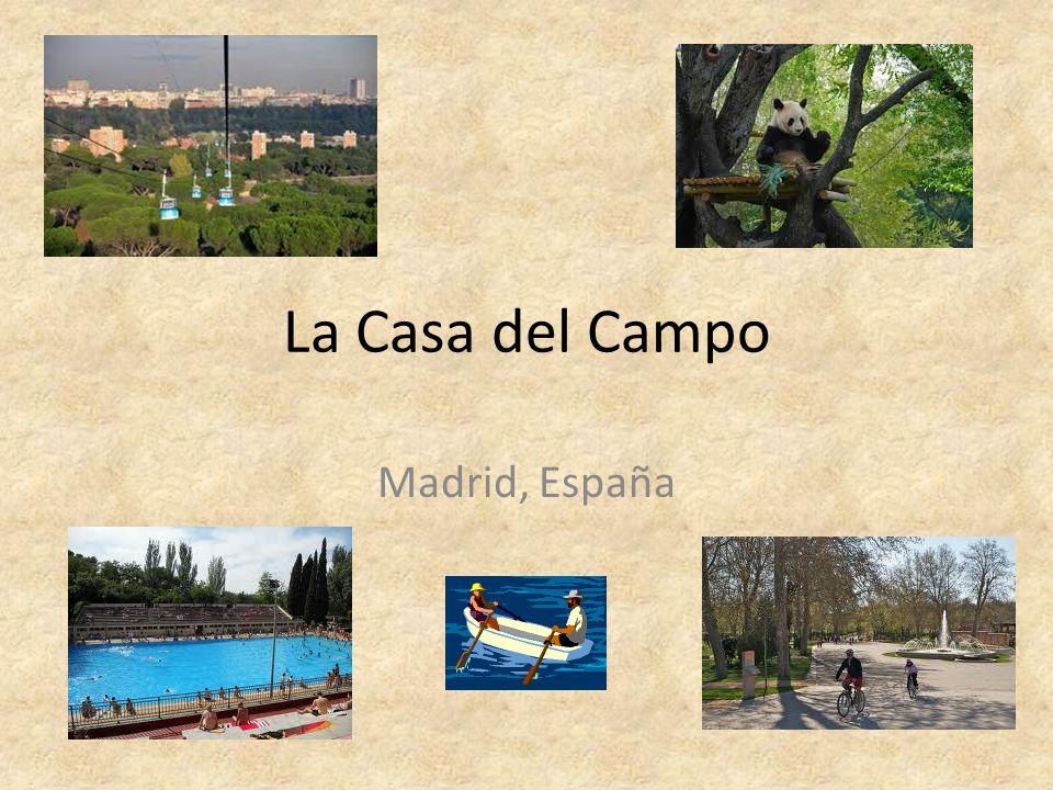 La Casa del Campo Madrid, España