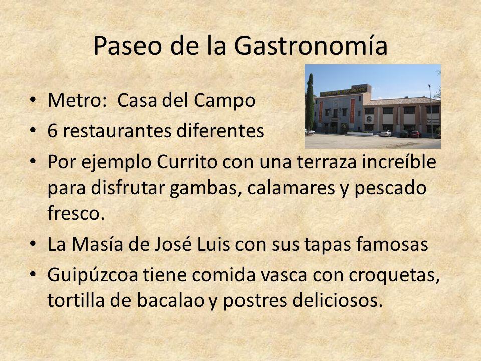 Paseo de la Gastronomía
