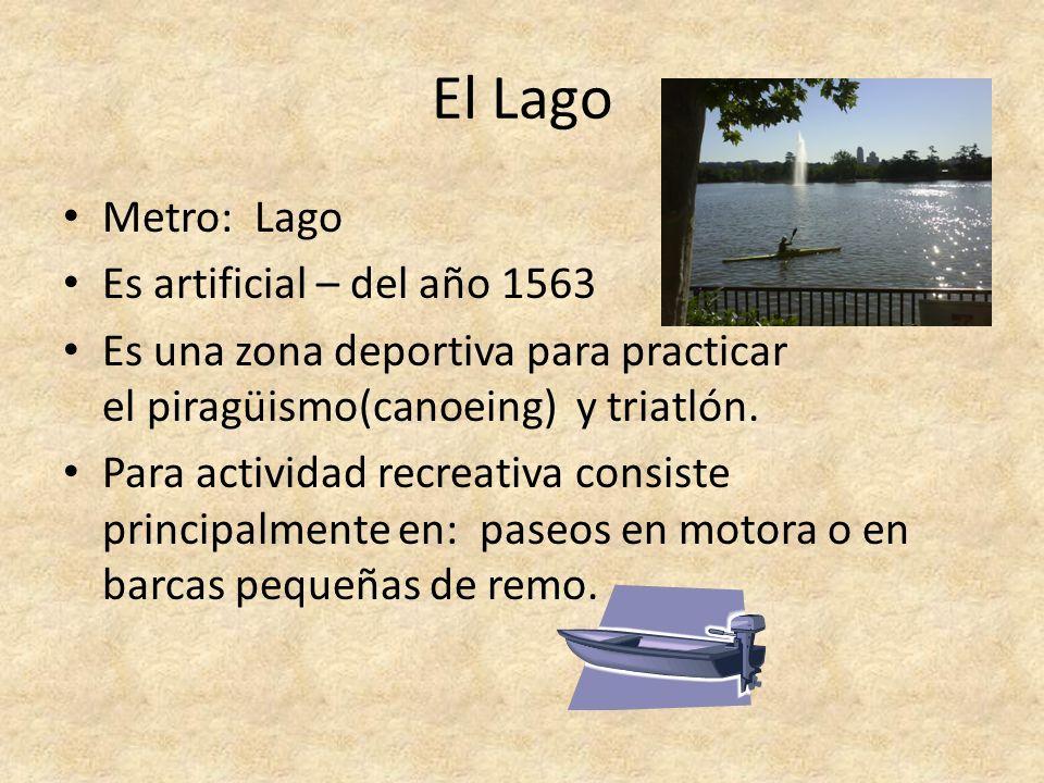 El Lago Metro: Lago Es artificial – del año 1563