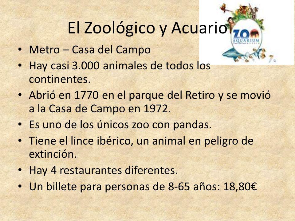 El Zoológico y Acuario Metro – Casa del Campo
