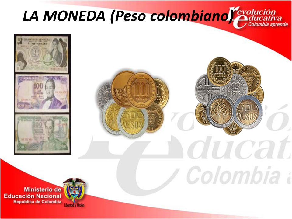 LA MONEDA (Peso colombiano)