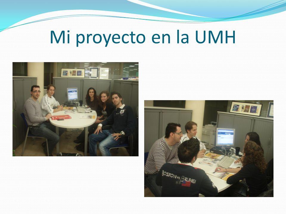 Mi proyecto en la UMH