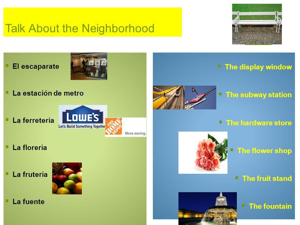 Talk About the Neighborhood