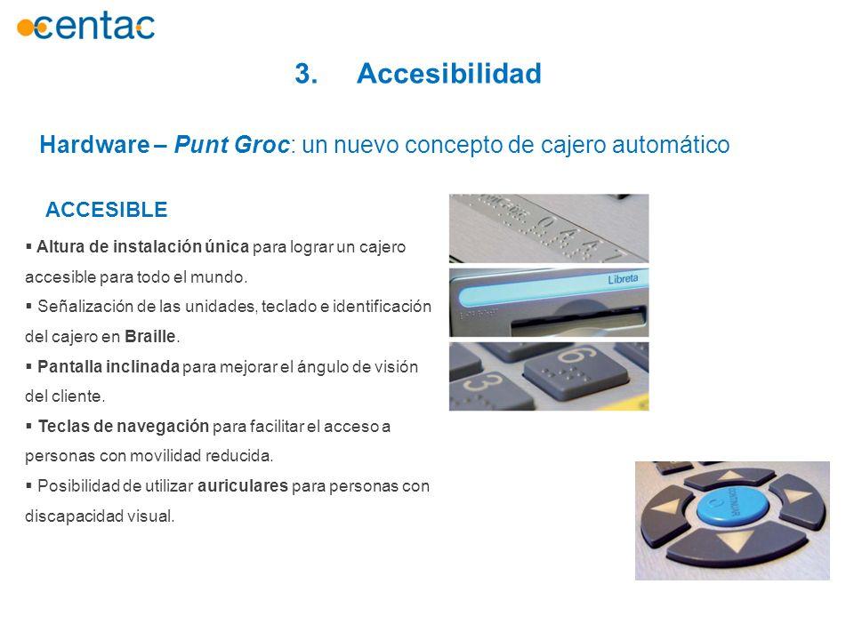 3. Accesibilidad Hardware – Punt Groc: un nuevo concepto de cajero automático. ACCESIBLE.