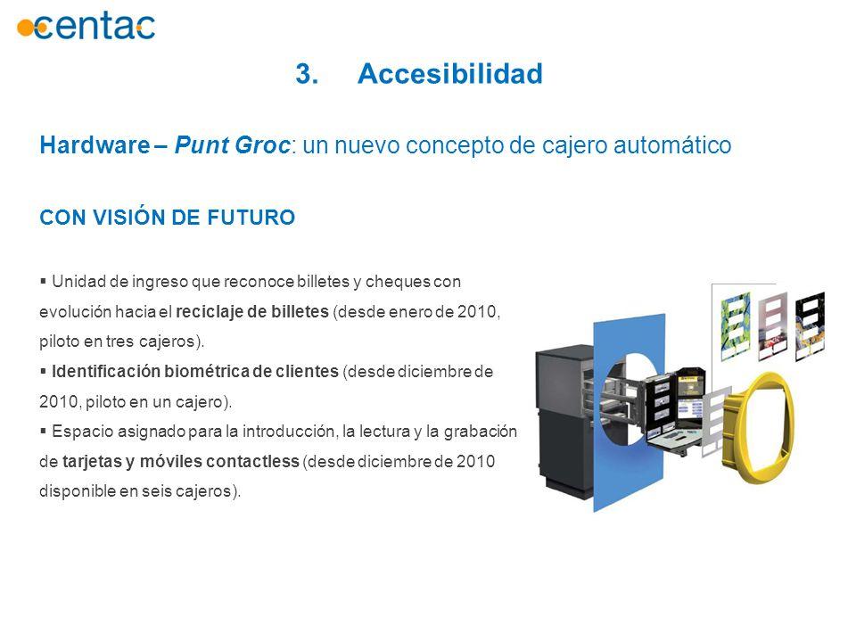 3. Accesibilidad Hardware – Punt Groc: un nuevo concepto de cajero automático. CON VISIÓN DE FUTURO.