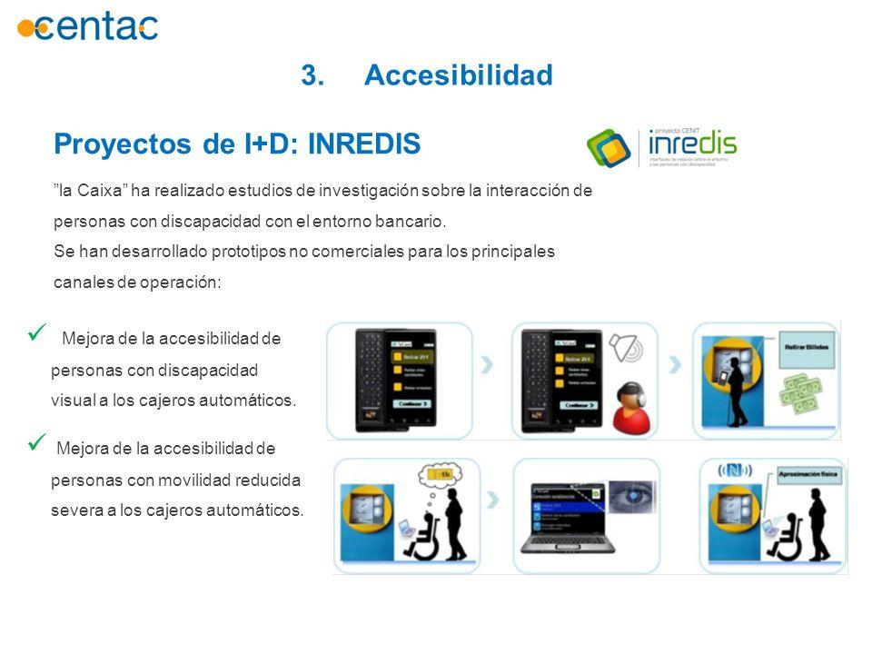 Proyectos de I+D: INREDIS
