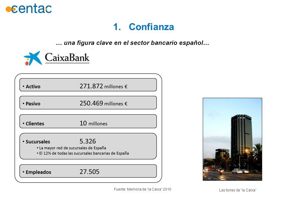 … una figura clave en el sector bancario español…