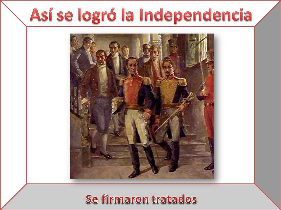 Así se logró la Independencia