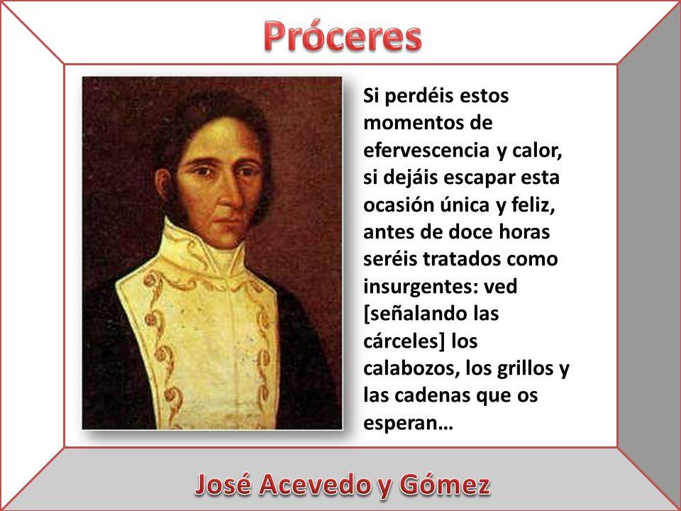 Próceres José Acevedo y Gómez