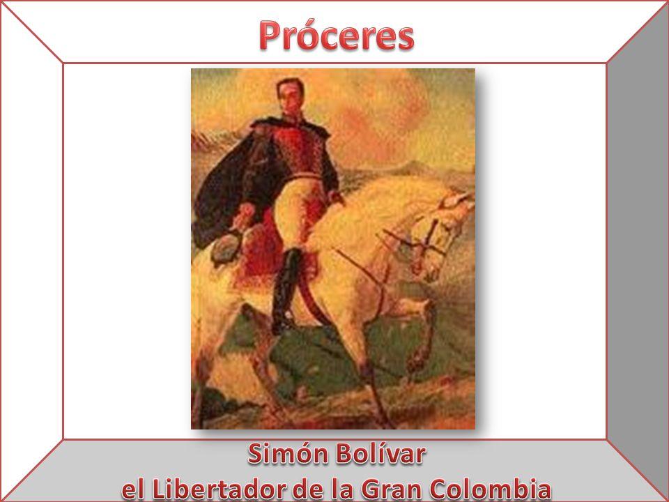 el Libertador de la Gran Colombia