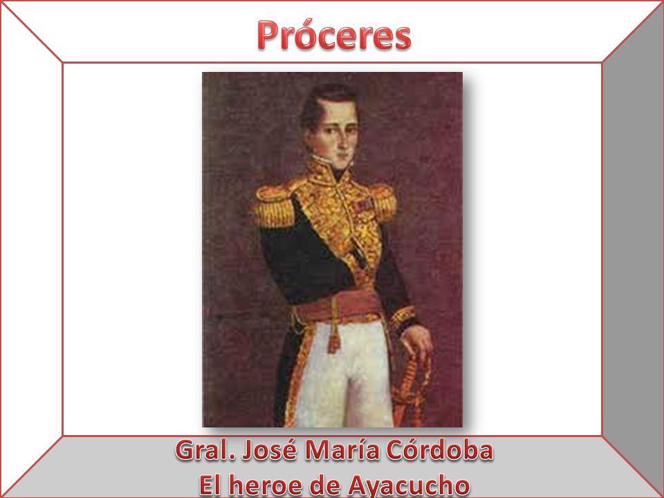 Gral. José María Córdoba