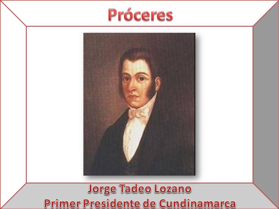 Primer Presidente de Cundinamarca
