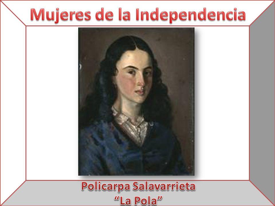Mujeres de la Independencia Policarpa Salavarrieta