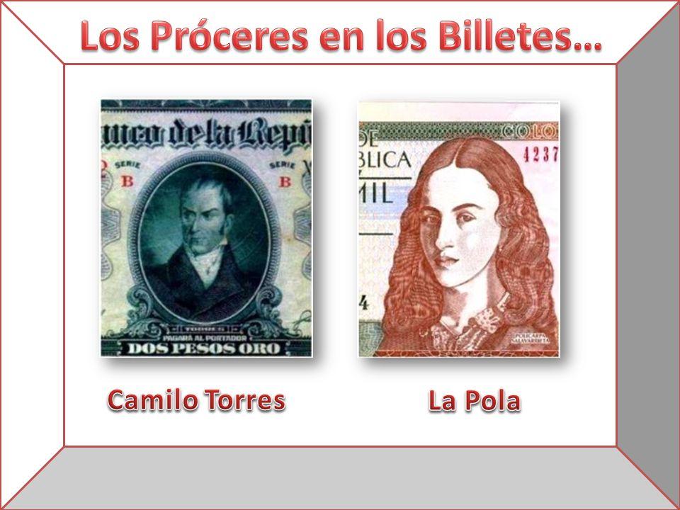 Los Próceres en los Billetes…