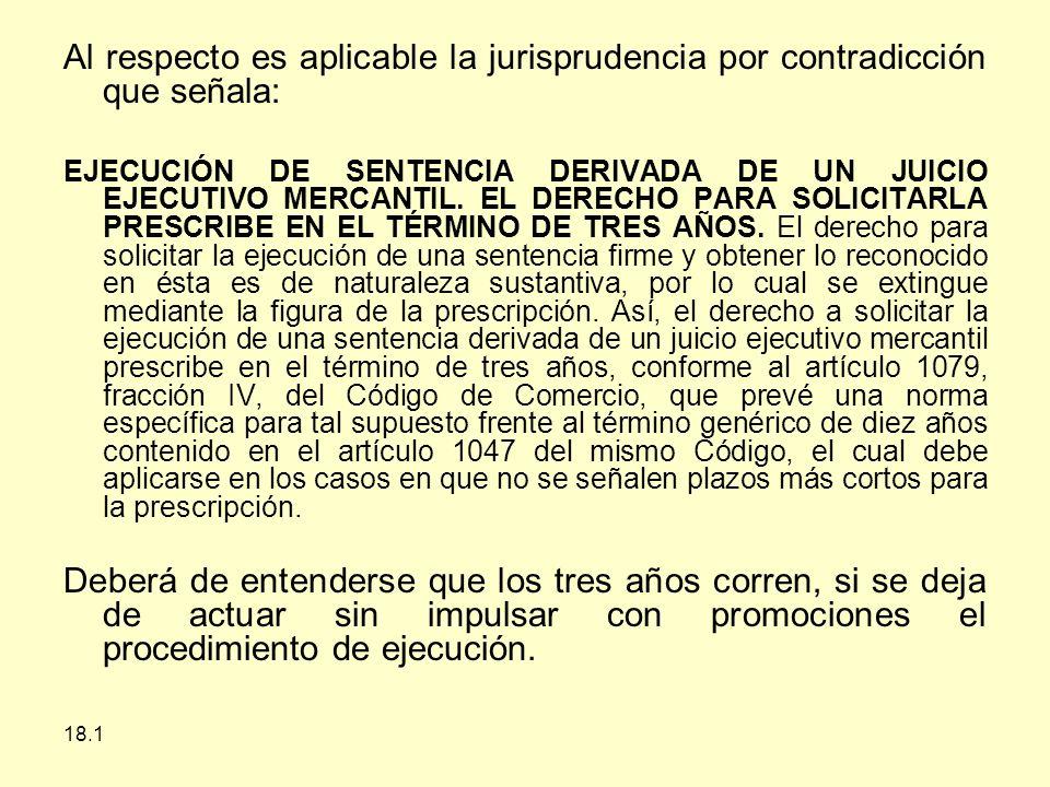Al respecto es aplicable la jurisprudencia por contradicción que señala: