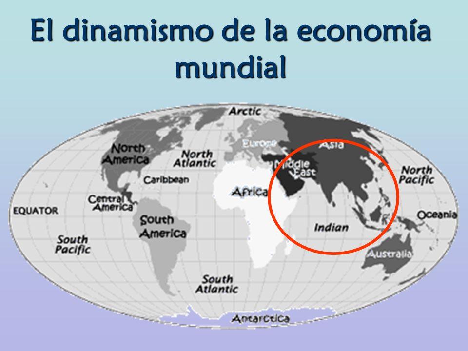 El dinamismo de la economía mundial