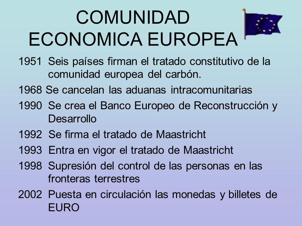 COMUNIDAD ECONOMICA EUROPEA