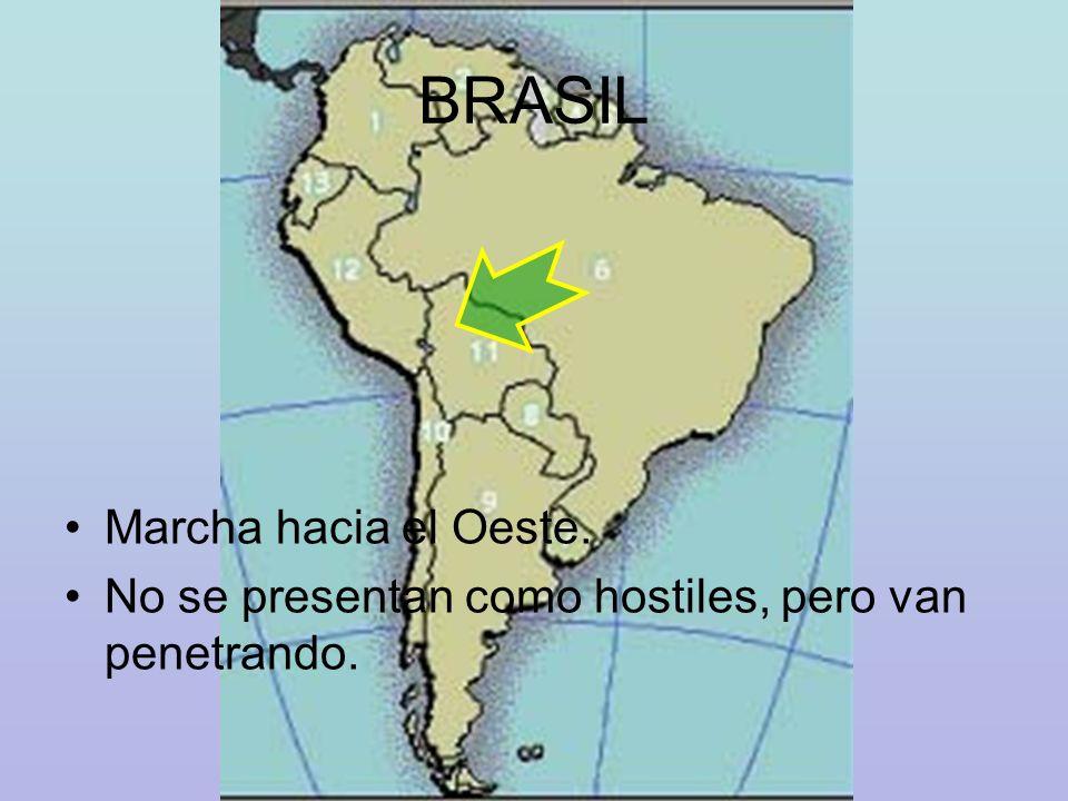 BRASIL Marcha hacia el Oeste.