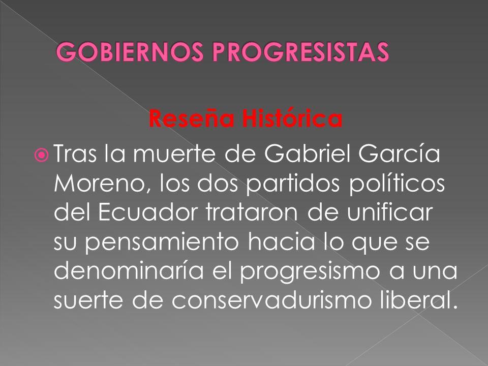 GOBIERNOS PROGRESISTAS