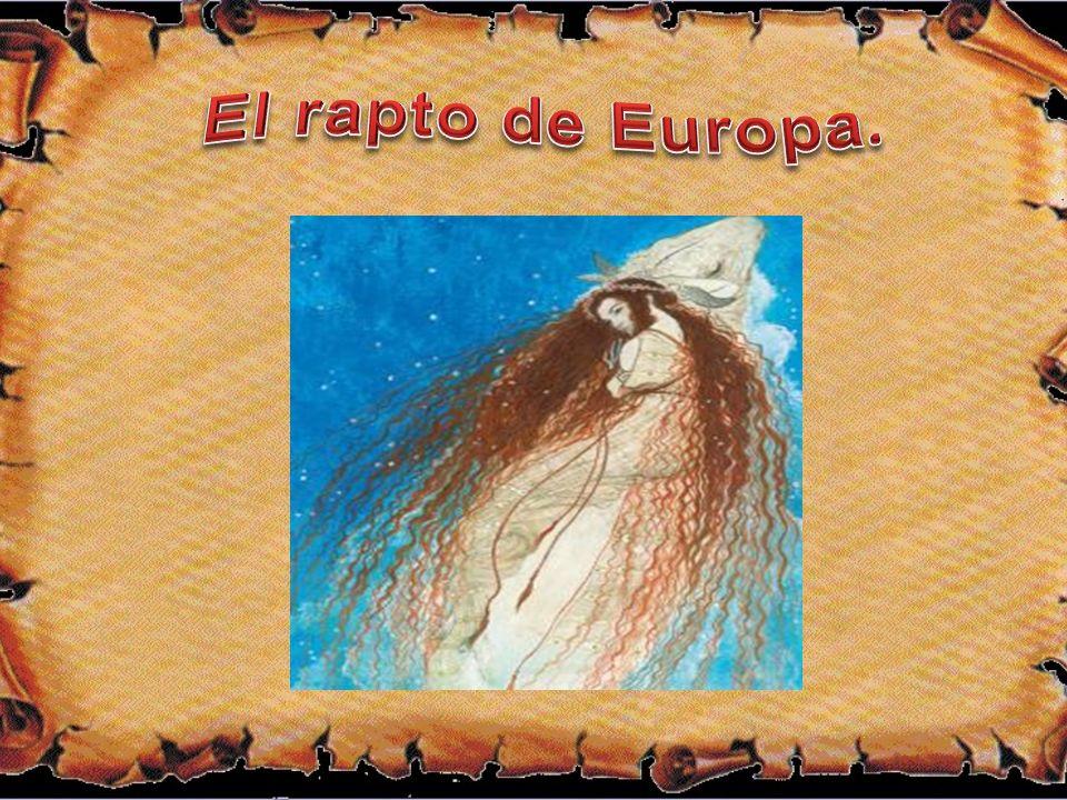 El rapto de Europa.