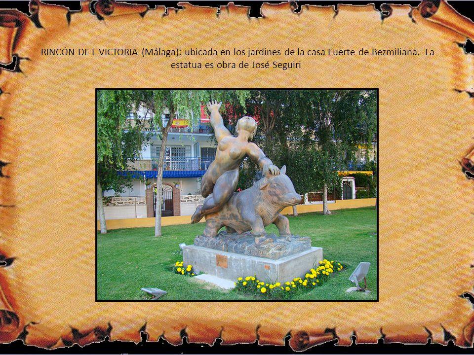 RINCÓN DE L VICTORIA (Málaga): ubicada en los jardines de la casa Fuerte de Bezmiliana.