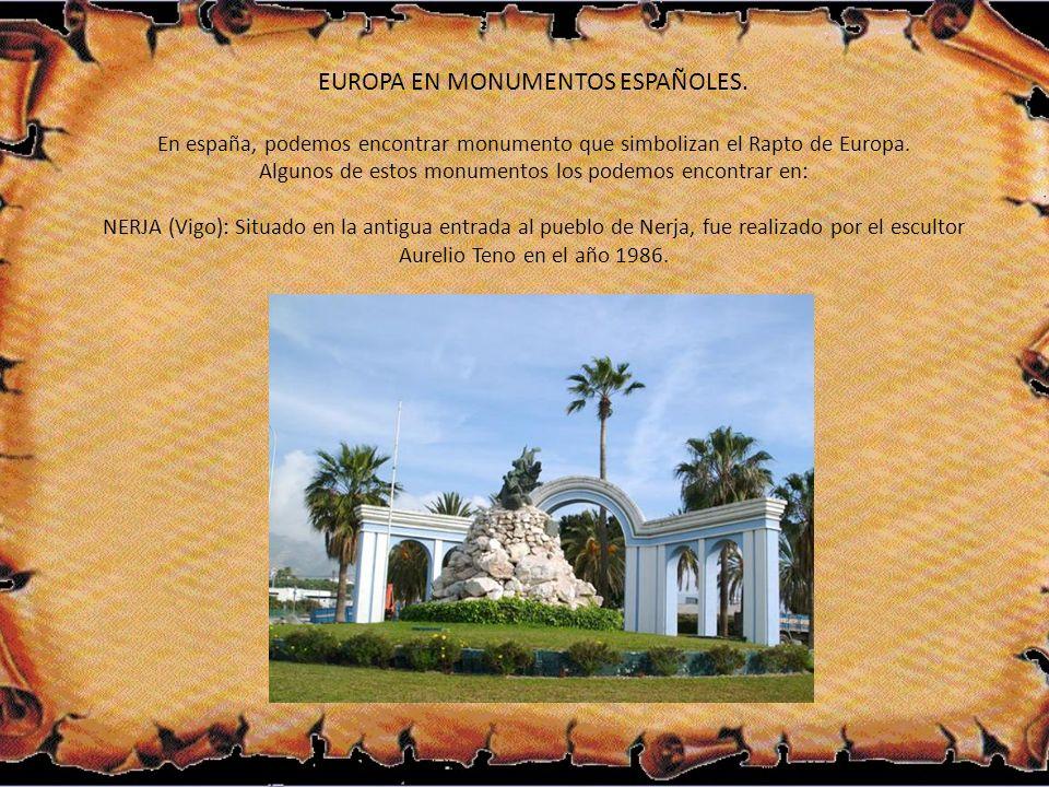 EUROPA EN MONUMENTOS ESPAÑOLES