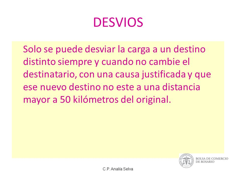 DESVIOS