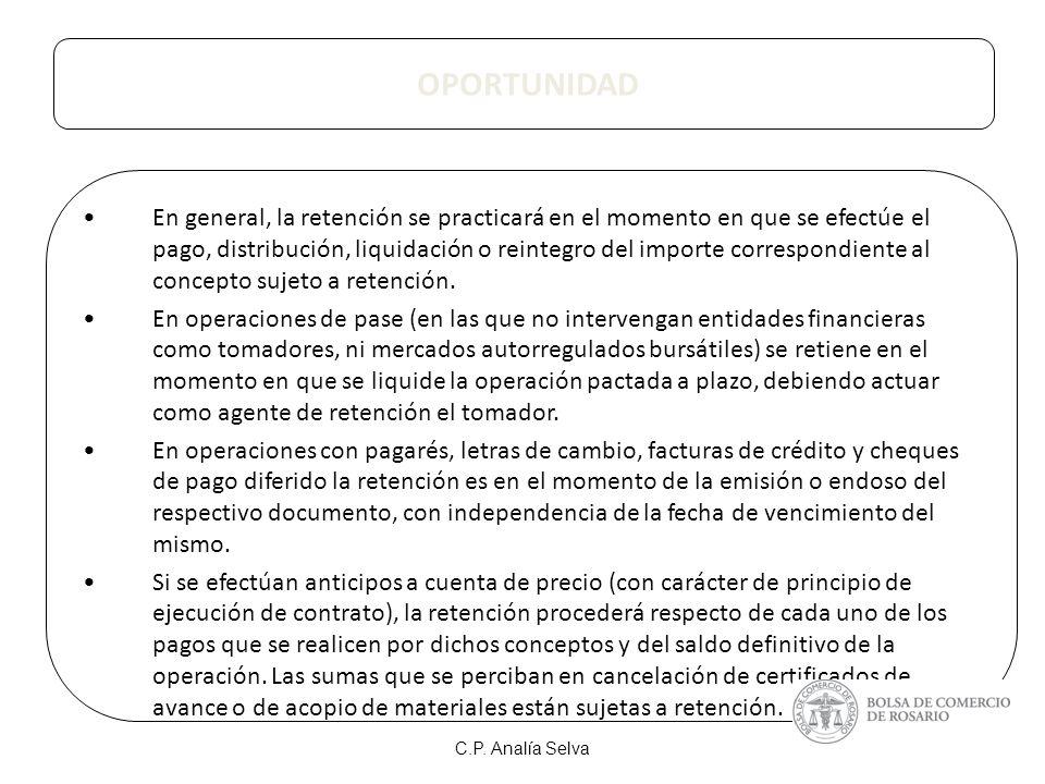 FORMA DE INGRESO AUTORRETENCION