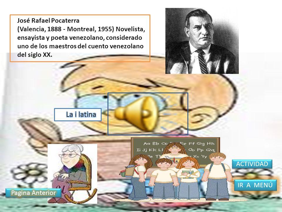 La i latina José Rafael Pocaterra