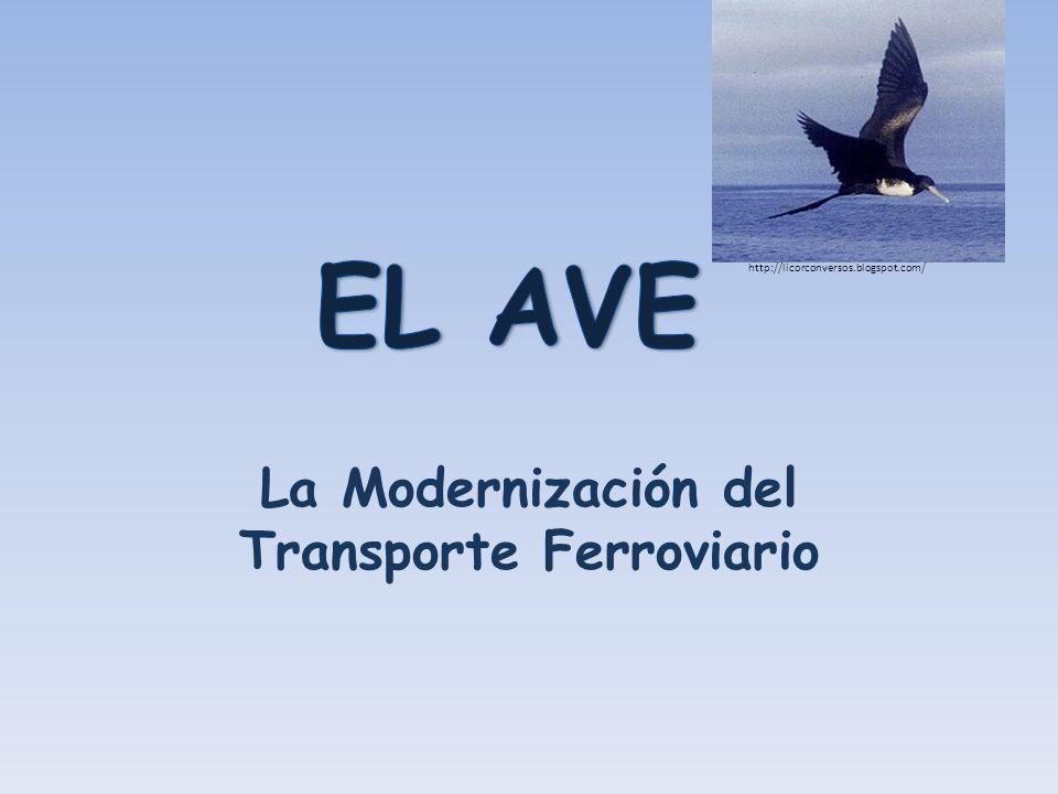La Modernización del Transporte Ferroviario