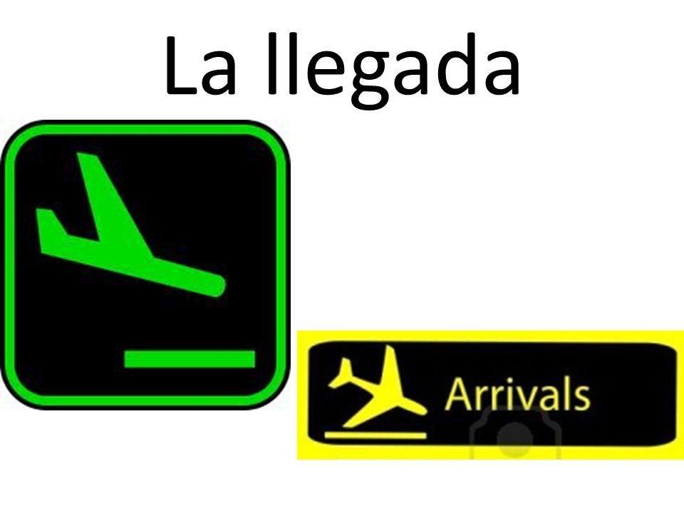 La llegada