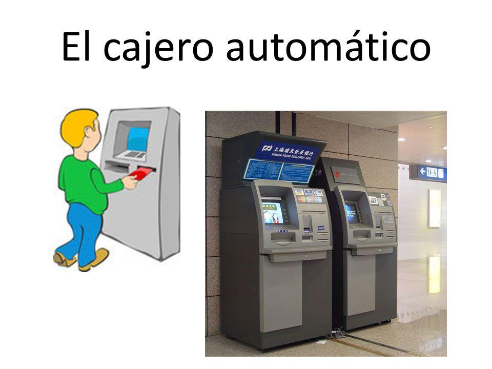 El cajero automático