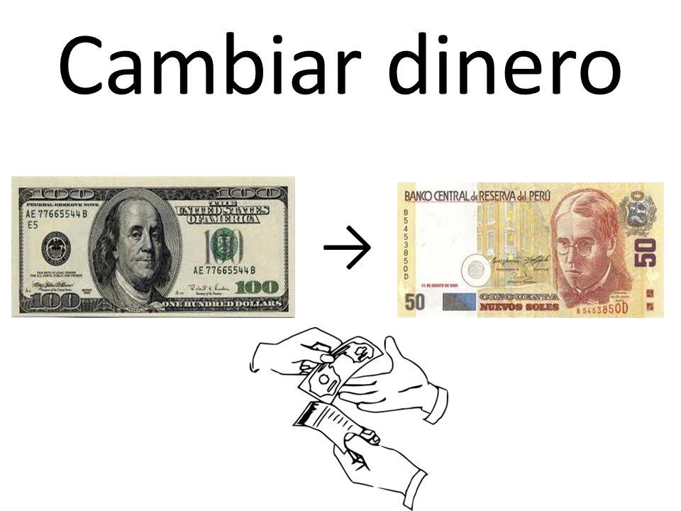 Cambiar dinero →