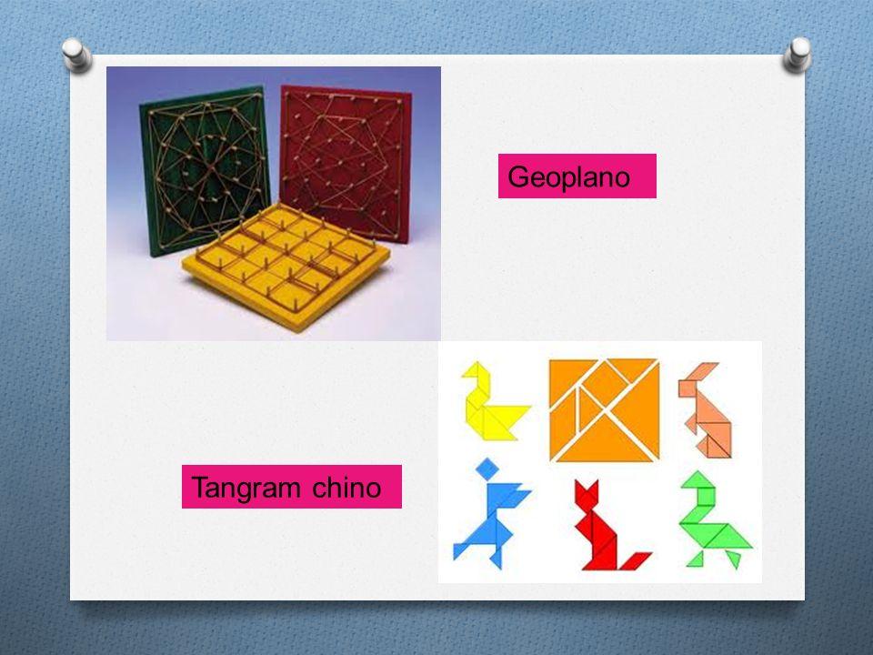Geoplano Tangram chino