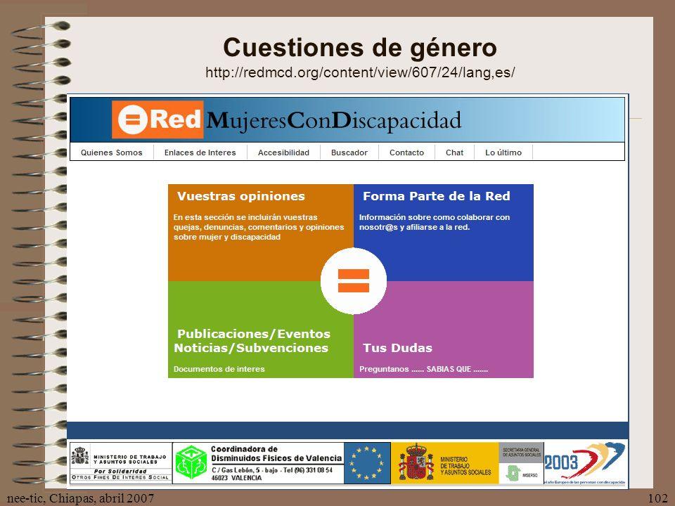 Cuestiones de género http://redmcd.org/content/view/607/24/lang,es/