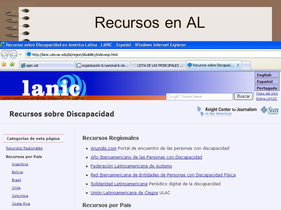 Recursos en AL nee-tic, Chiapas, abril 2007