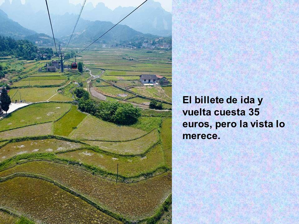 El billete de ida y vuelta cuesta 35 euros, pero la vista lo merece.