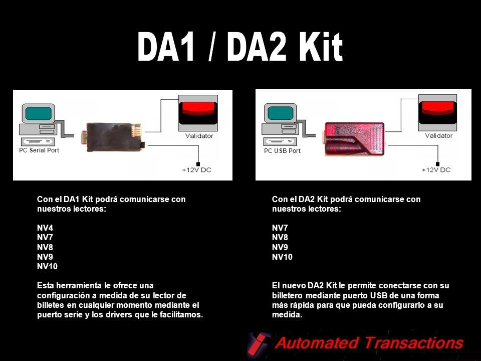 DA1 / DA2 Kit Con el DA1 Kit podrá comunicarse con nuestros lectores: